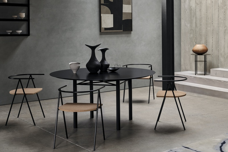 Bendon Dining Table - Christian Watson Dining Table - Metal Dining Table