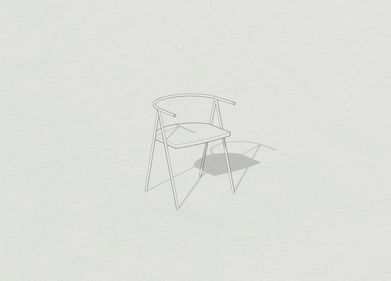Metal Chair - Timperly Chair