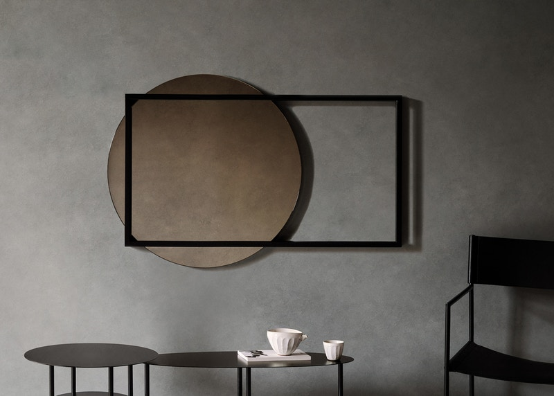 Thoralby Mirror - Christian Watsons Thoralby Mirror - Metal Mirror