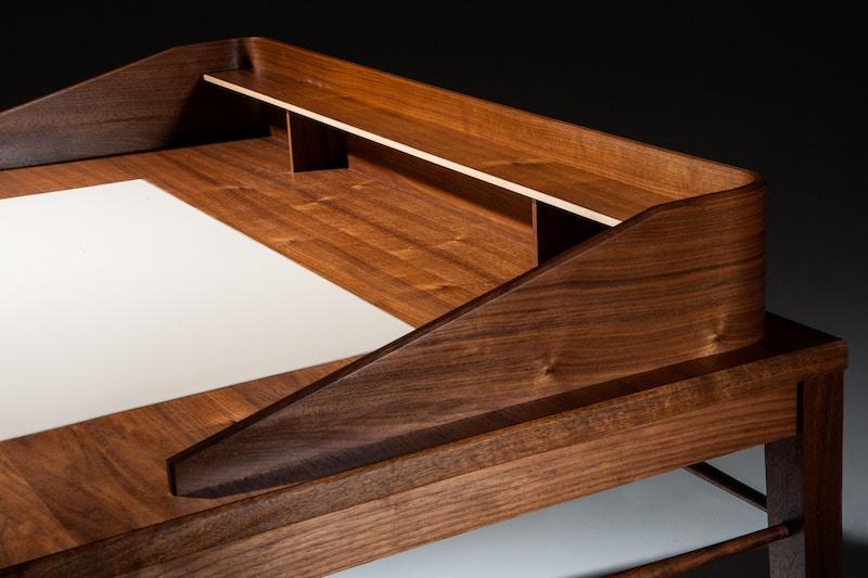 Walnut Writing Desk - Handmade