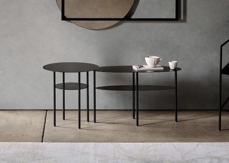Haldane Side Table - Christian Watson Haldane Side Table - Metal Side Table