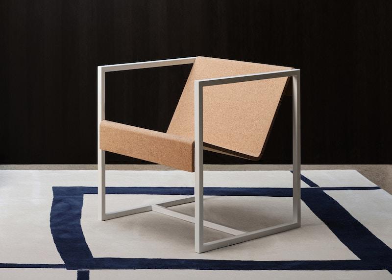 Littleton Armchair - Christian Watson Littleton Armchair - Metal Chair