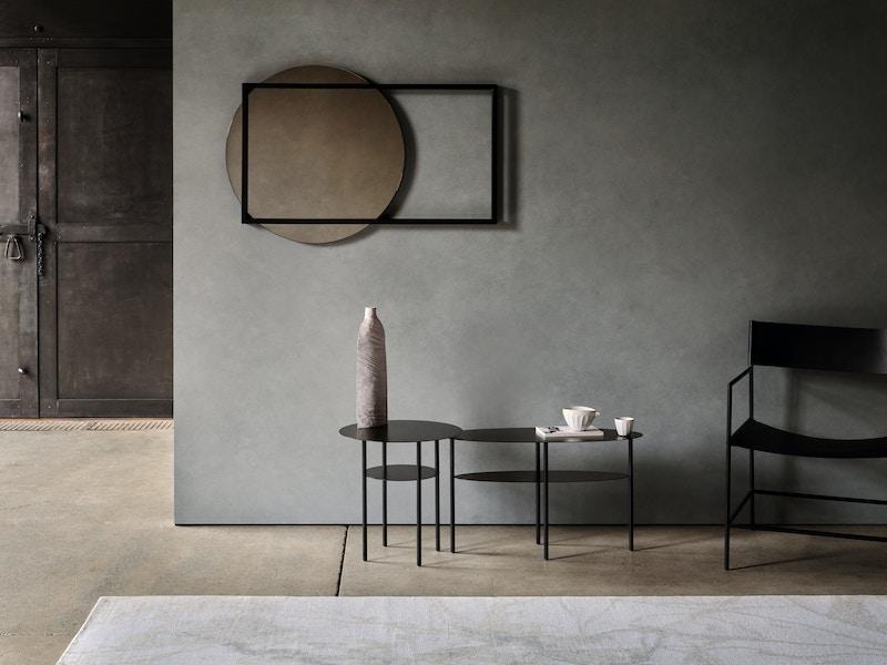 Thoralby Mirror - Horizontal metal mirror - Christian Watson Furniture