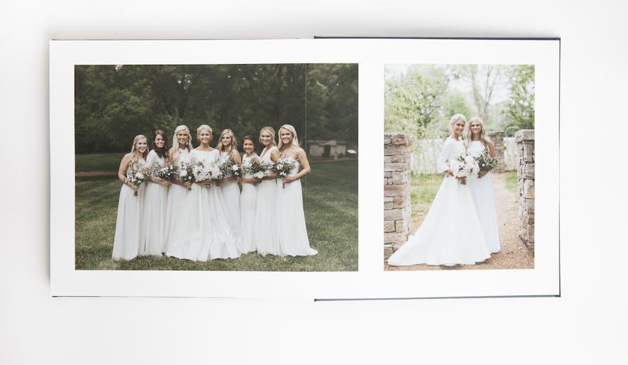 bridesmaid chatbook layflat