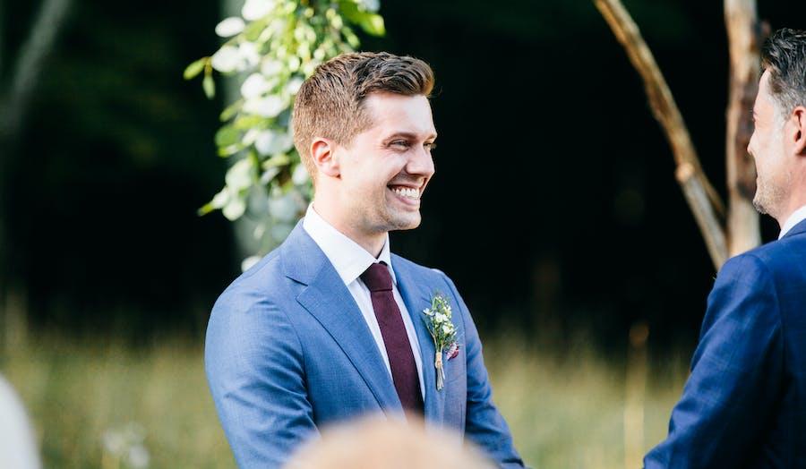 LGBTQ+ couple wedding