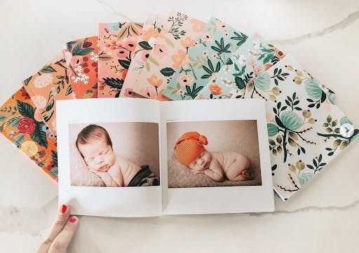 Photo Book of Baby's First Year