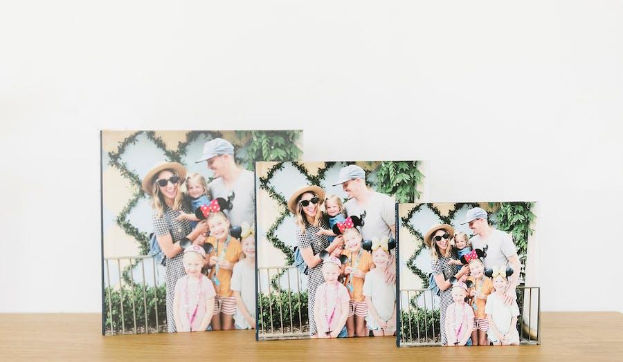 varying sizes for Chatbooks Standard Photo Books