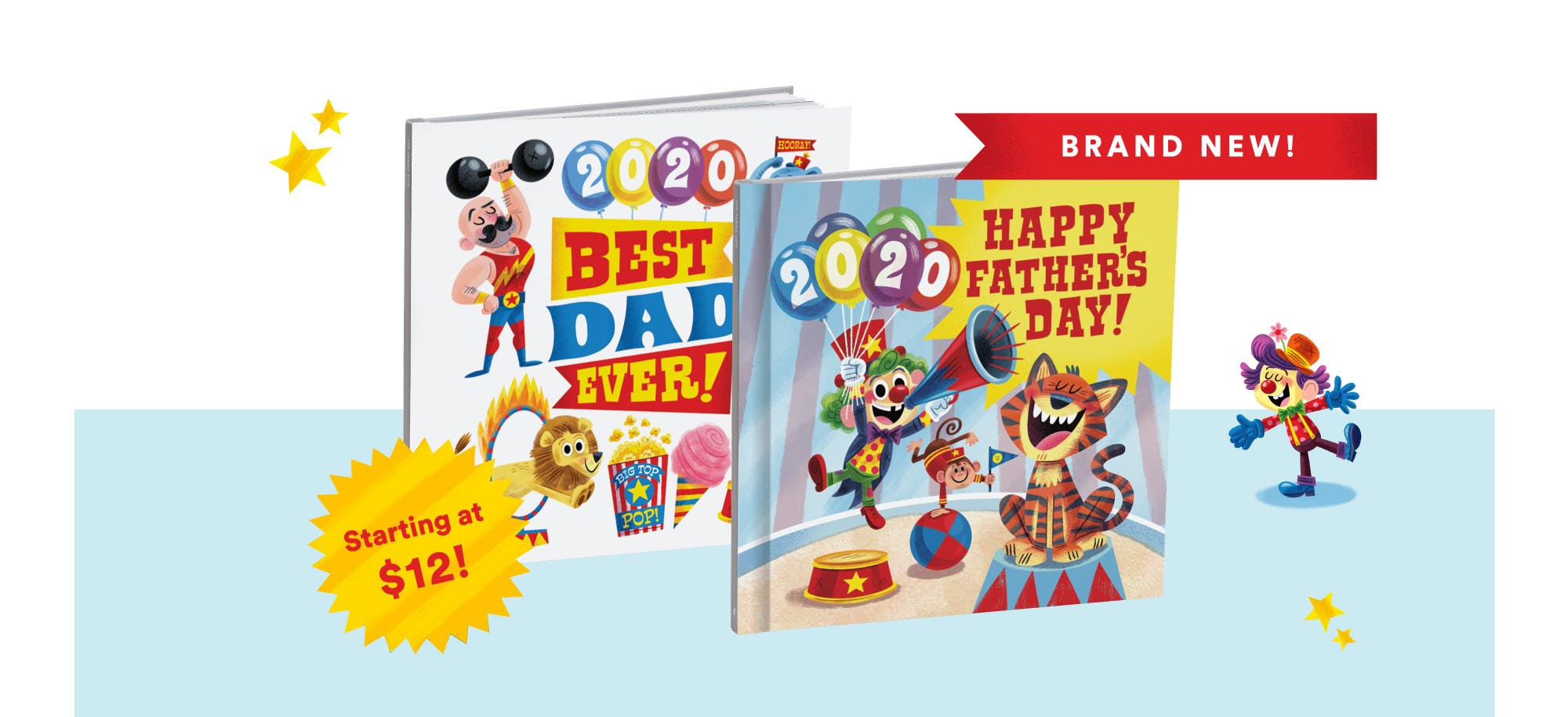 Brand New Father's Day Photo Book Covers