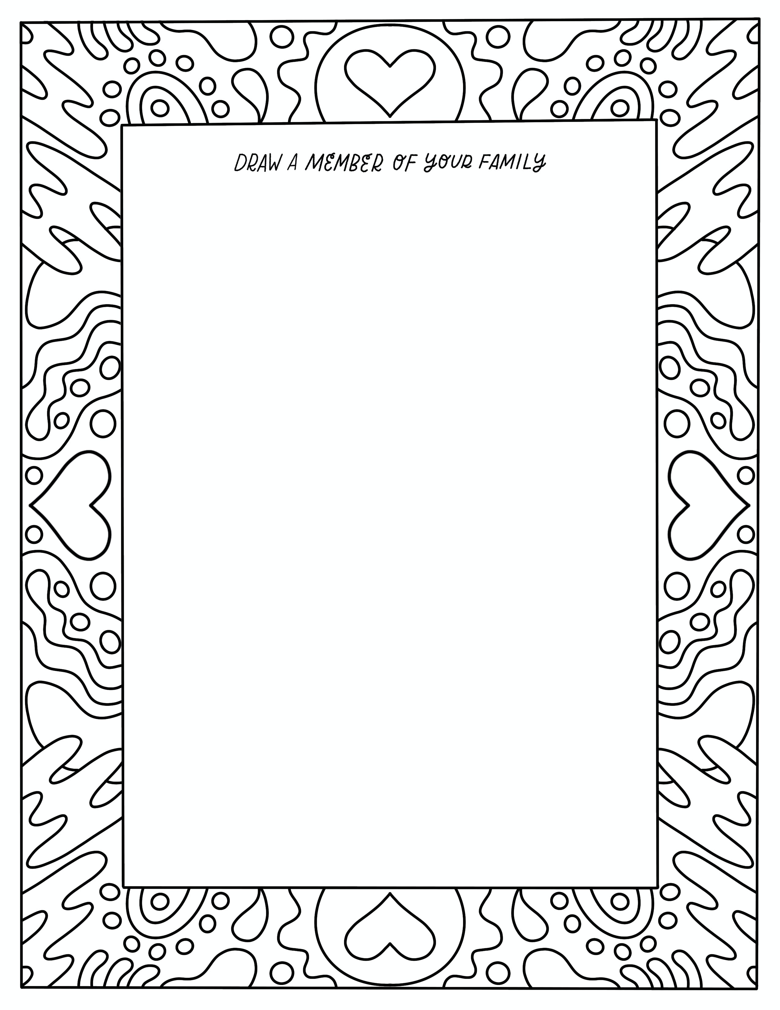 Chatbooks Free Coloring Book Page