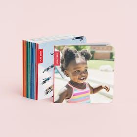 monthly mini photo books