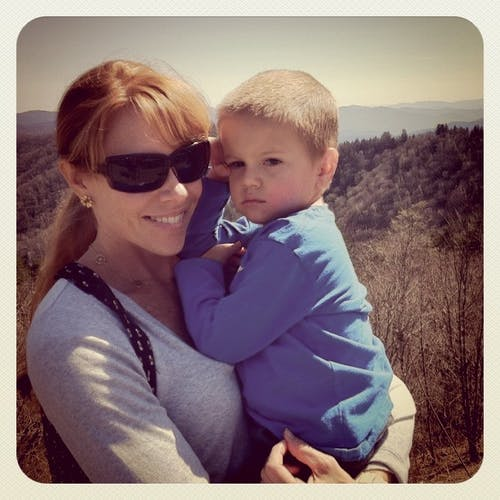 Vanessa Quigley, Co-Founder of Chatbooks, and her youngest son