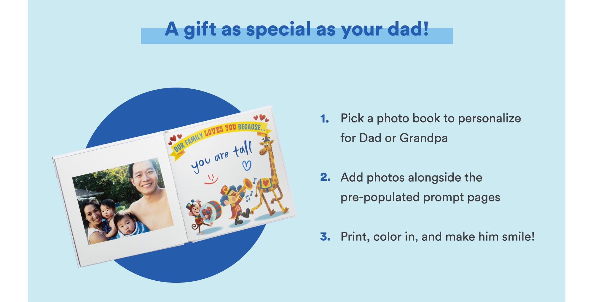 A gift as special as your dad or grandpa!