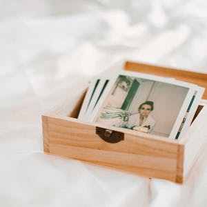 memory box with pictures