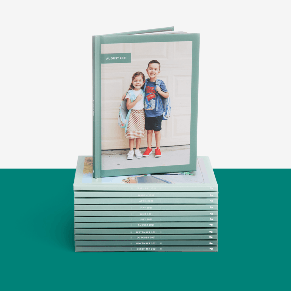 Hardcover Monthbooks