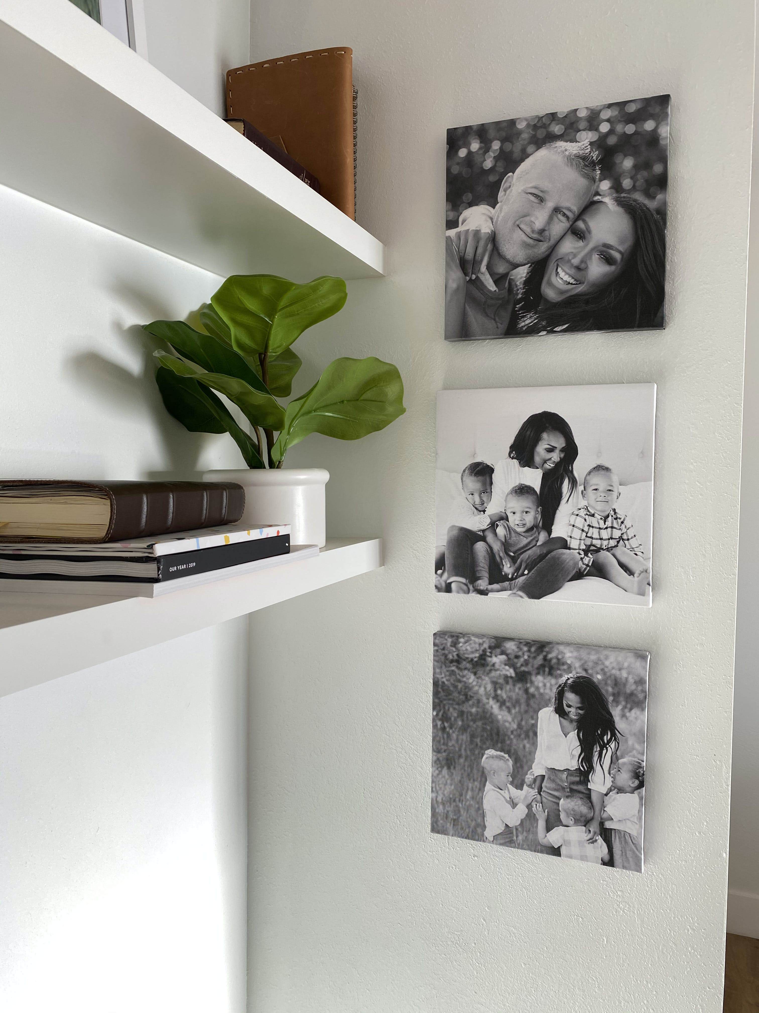 Family Photo Gallery Wall Ideas How To Display Family Photos On Wall Chatbooks