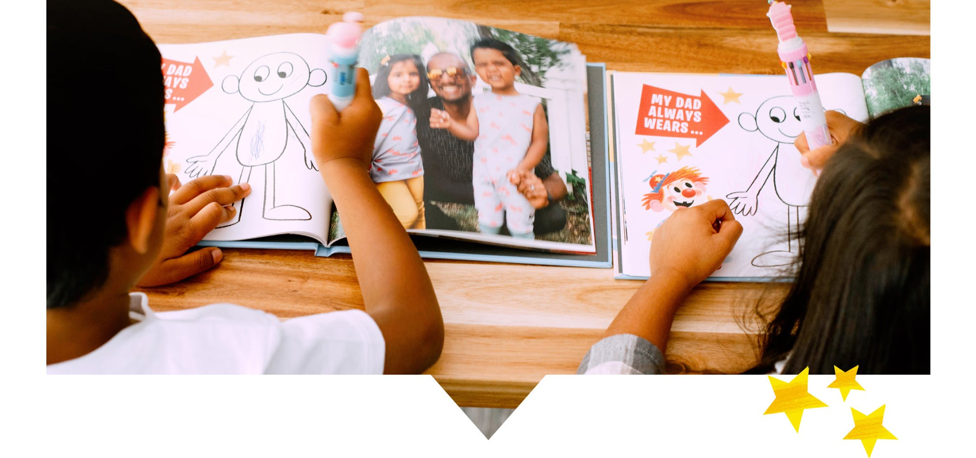 Customize your Father's Day Photo Book