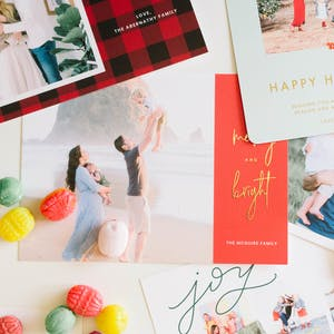 Chatbooks holiday cards