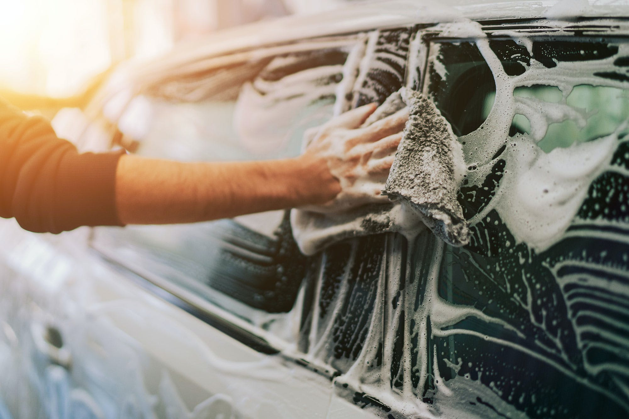 Top tips for cleaning your car