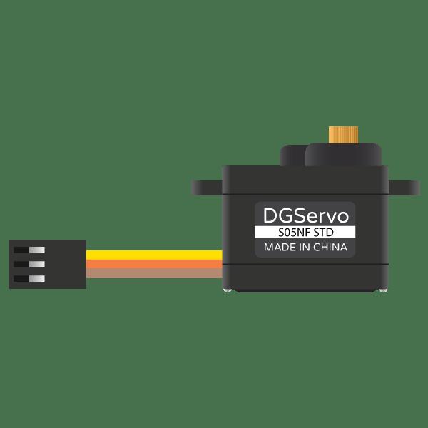 Servo Motor Generic Metal Gear (Micro Size) - component image 1