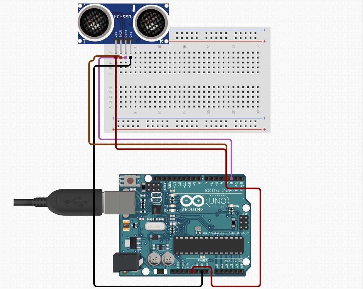 HC-SR04 Ultrasonic Sensor - component image 2
