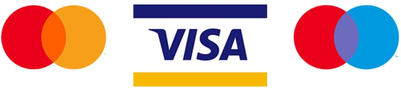 Deposit online with payment cards