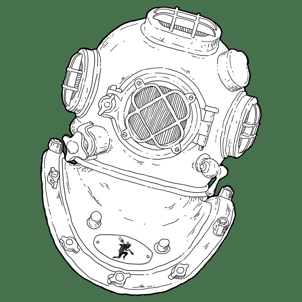 Fishpeople - Floating Illustration