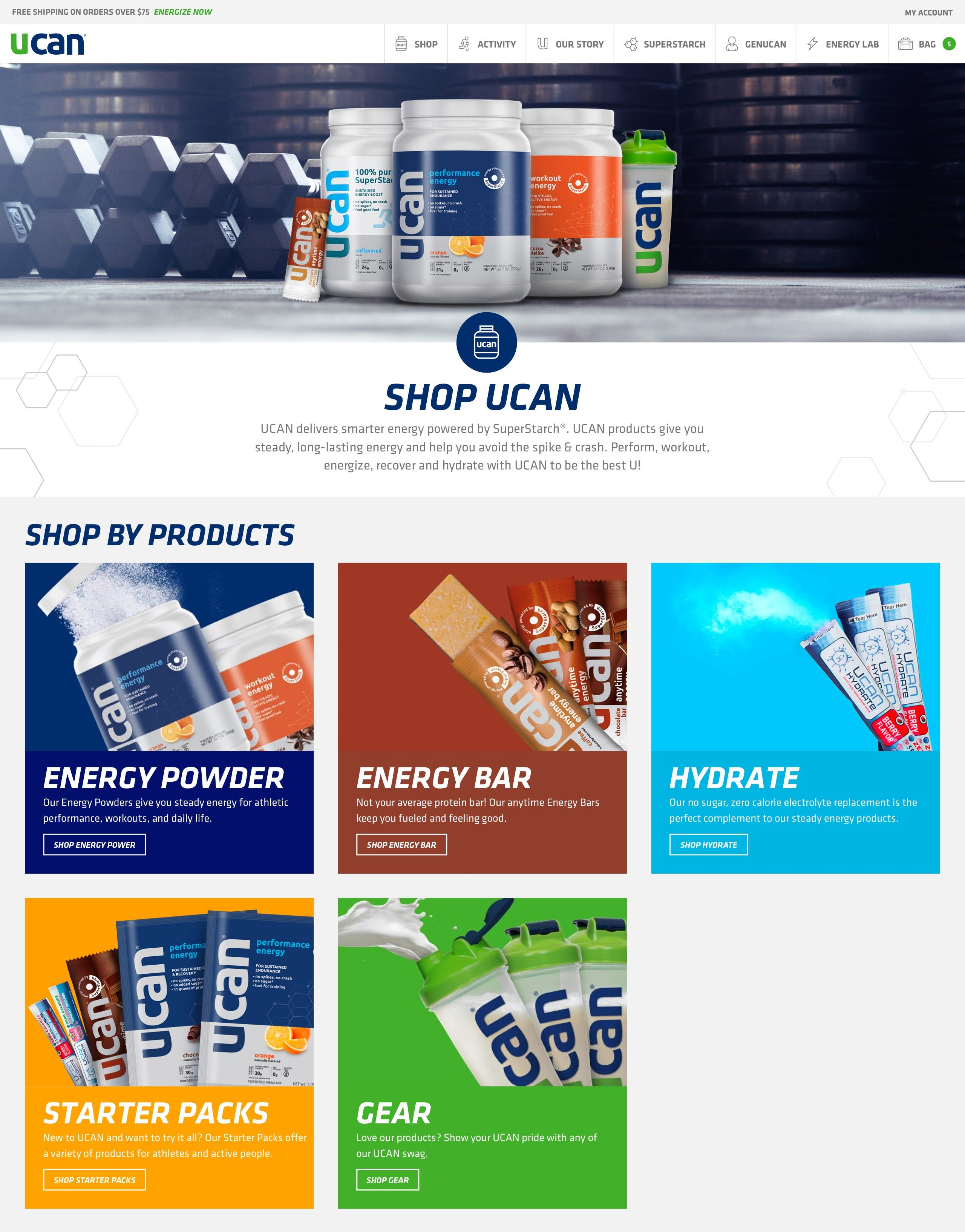 UCAN - Product Category