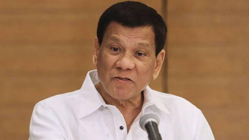 Philippines president, Rodrigo Duterte