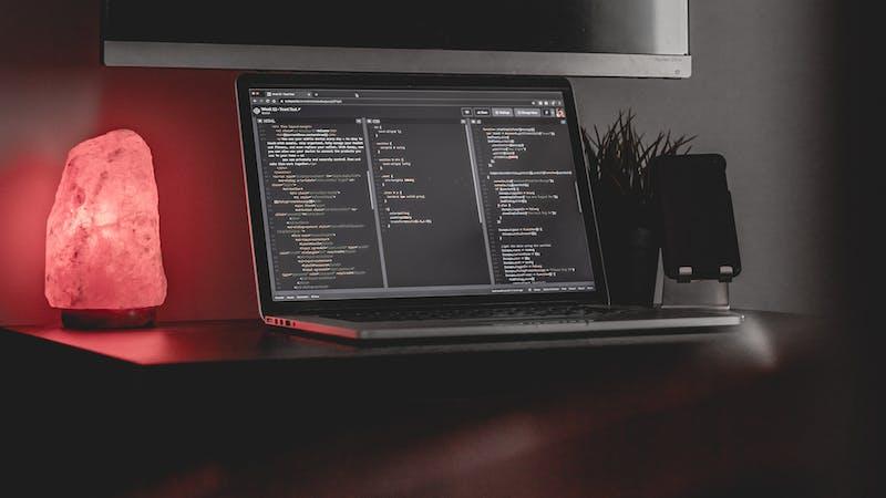 A programming workstation.