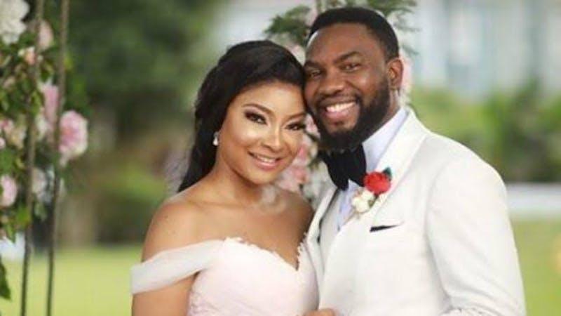 Nollywood couple, Linda Ejiofor and Ibrahim Suleiman