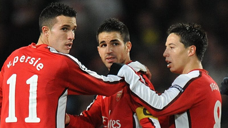 Collection of Arsenal players who left the club under former manager Arsene Winger