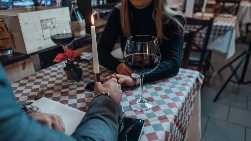 Date night: A couple that met on a dating app and hooked up