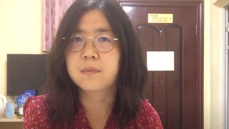 Chinese citizen journalist, Zhang Zhan faces 5 years jail term for reporting the Wuhan Coronavirus outbreak