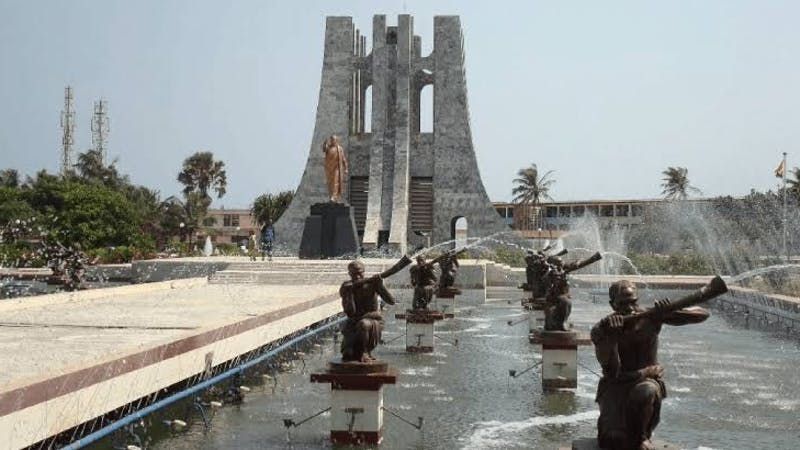 Kwame Nkrumah Memorial Park and Mausoleum is a great place to visit for a fun tour