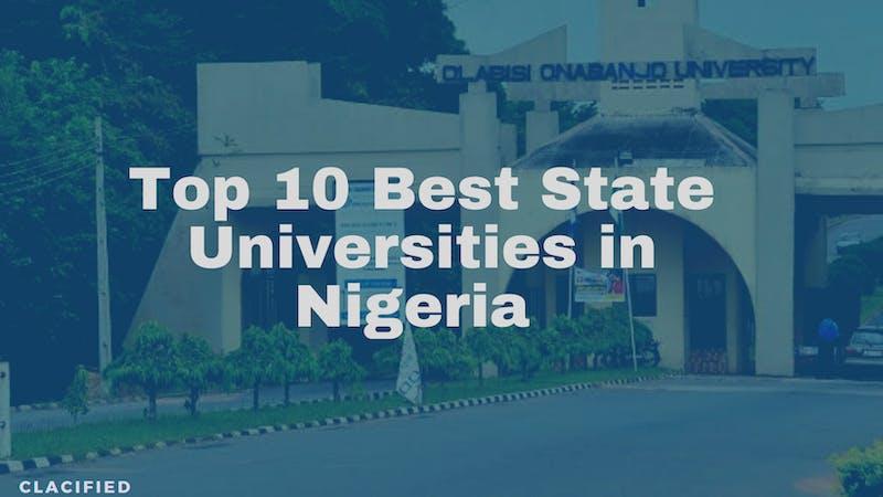 Building complex of Olabisi Onabanjo University, one of the top 10 best universities in Nigeria
