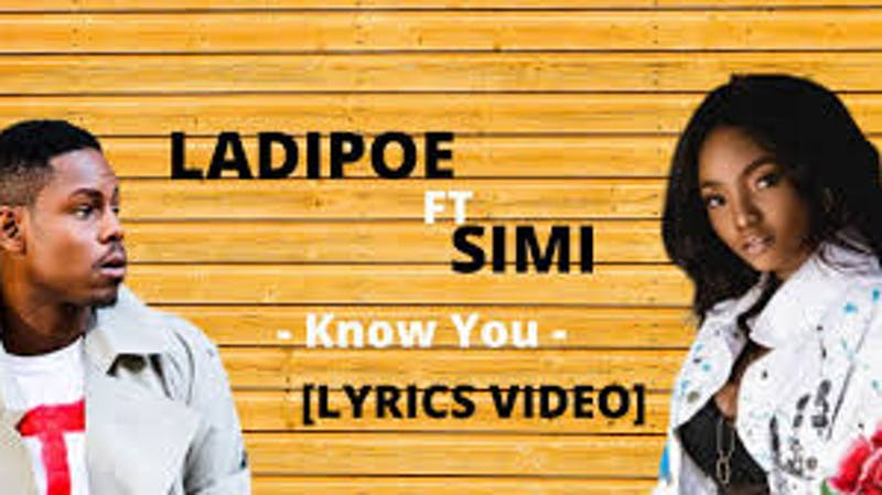 Ladipoe  and Simi, Nigerian artists