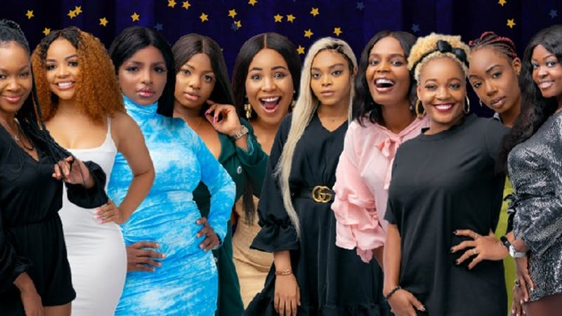 BBNaija Lockdown housemates (ladies).