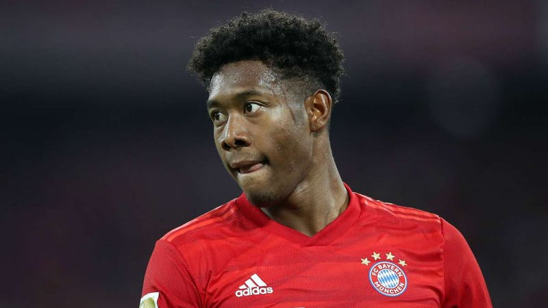David Alaba is set to leave Bayern Munich over a contract issue