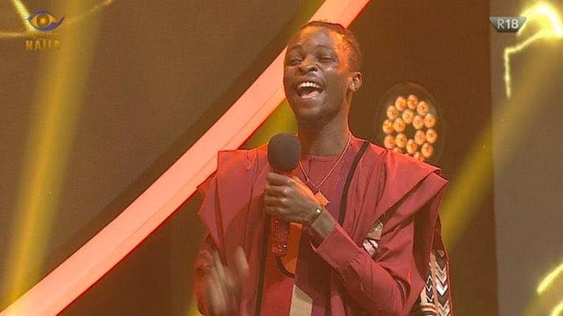 Winner of the Big Brother Naija Lockdown show for the year 2020, Laycon.