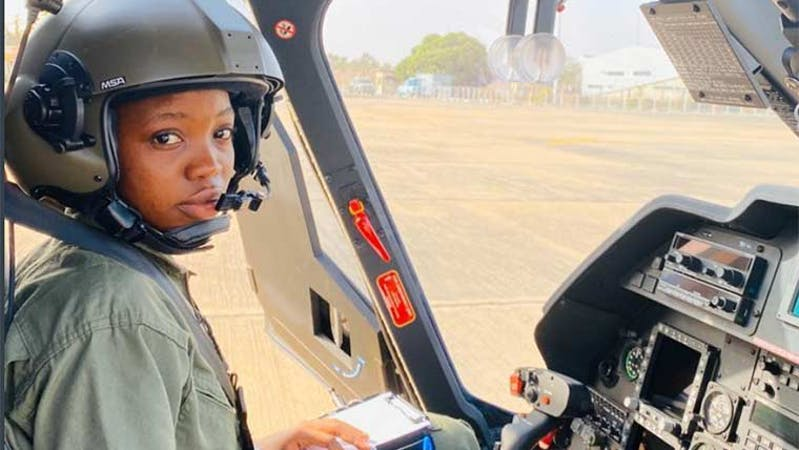 Nigerian Air Force first female combat helicopter pilot, Tolulope Arotile reported dead after sustaining a head injury in a road accident