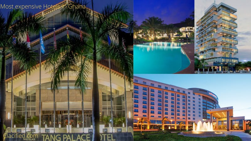 List of most expensive hotels in Ghana in 2021