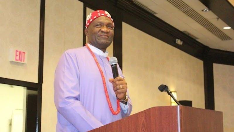 The President-General of Ohanaeze Ndigbo, Nnia Nwodo