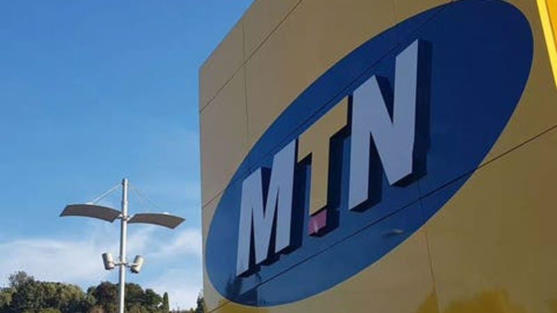 Buidling with MTN logo beside it.