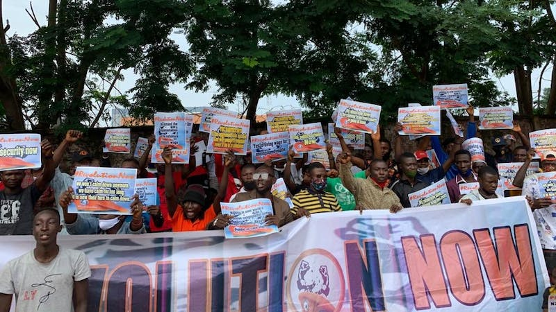 Revolution now protesters arrested in Osogbo