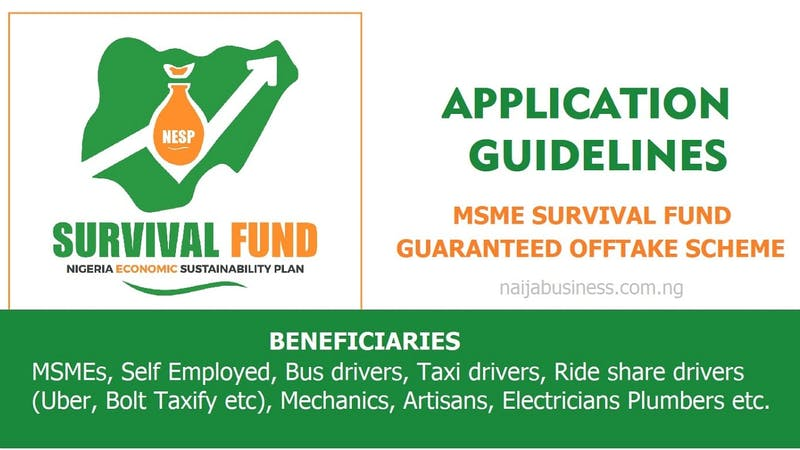 The portal for the registration of beneficiaries of survival fund is now open