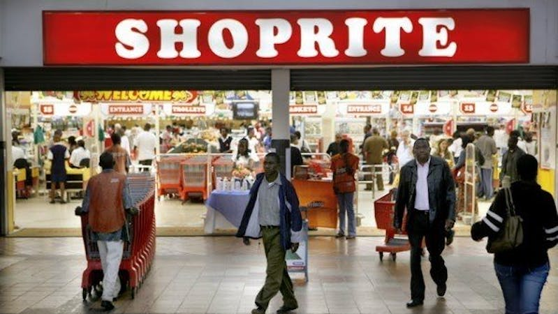 Shoprite Nigeria, customers moving in and out