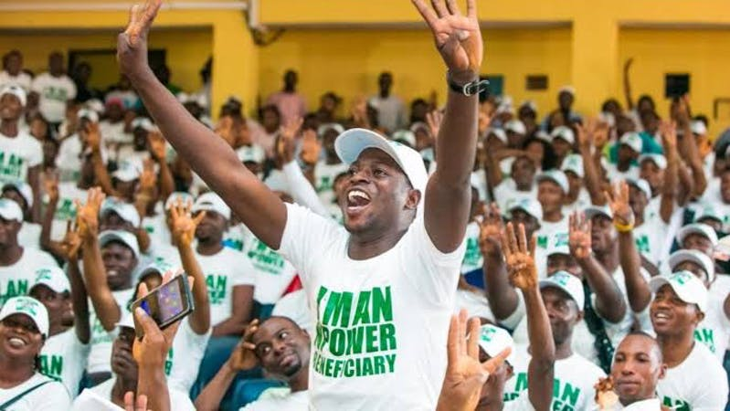 N-Power is one of the youth empowerment initiatives established under the current President Muhammadu Buhari's administration