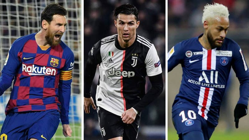 List of top 10 richest footballers in the world in 2021