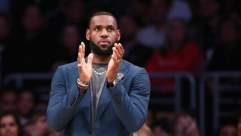 Los Angeles Lakers star and basketball player, LeBron James