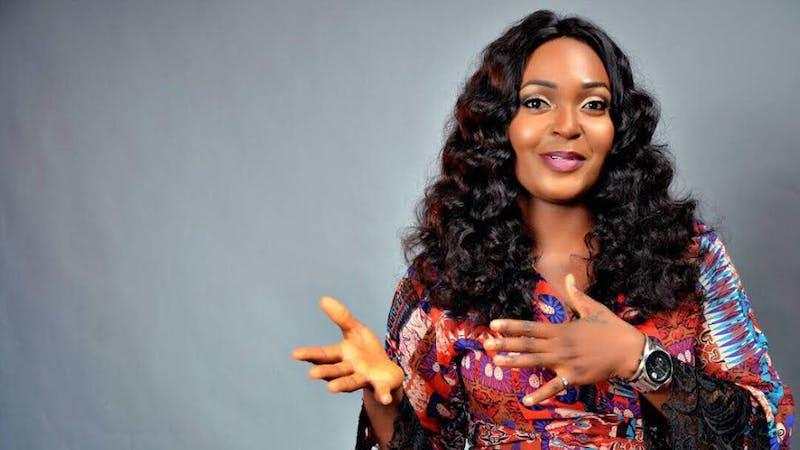 Blessing Okoro has hit on her colleague for advising women not to eat men's money